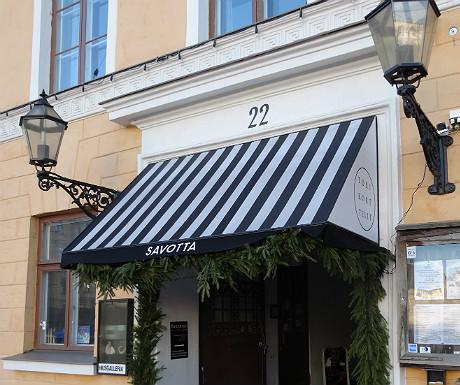 Savotta Restaurant in Helsinki