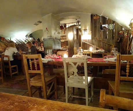 Inside Savotta restaurant in Helsinki