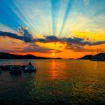 Chasing the sunset around the world