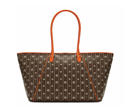 Berry Brown tote