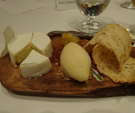 Camembert cheesecake