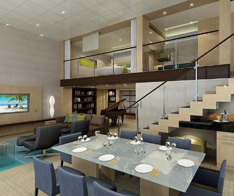 Royal Loft Suite, Allure of the Seas