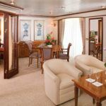 The world's most extravagant luxury cruise suites