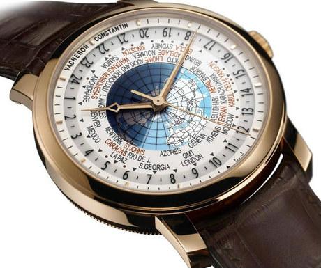 Vacheron Constantin Patrimony Traditionnelle World Time chronograph