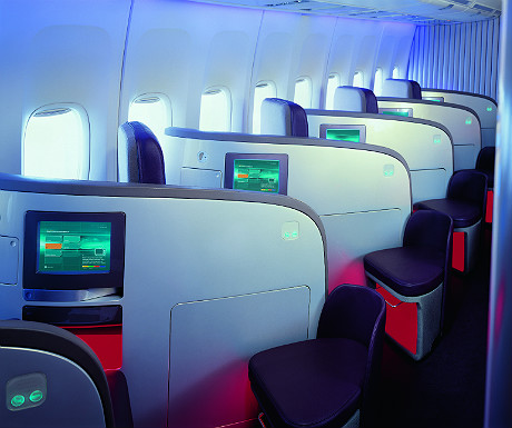 Virgin Atlantic Upper Class seating