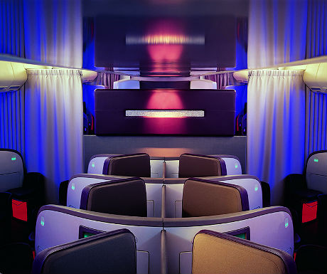 Virgin Atlantic Upper Class seats