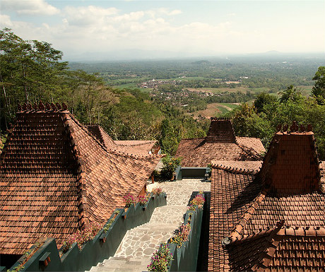 Borobudur villas