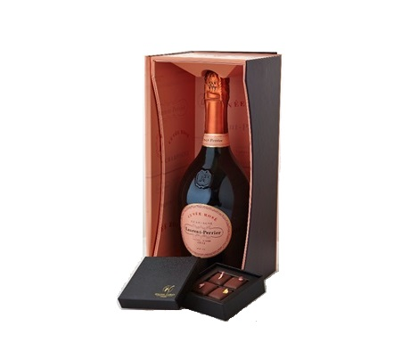 Champagne Laurent-Perrier and William Curley Valentines Day Fusion test