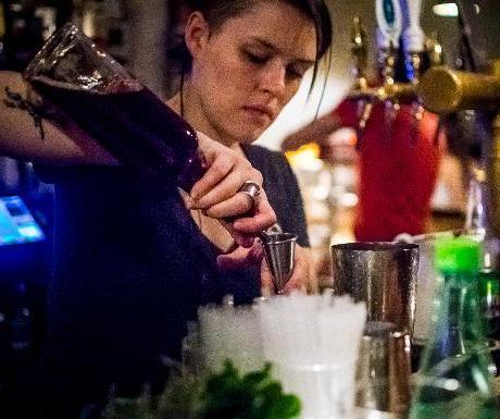 Glass Bar