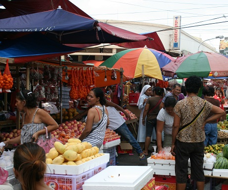Market in Bacolod, Philippines