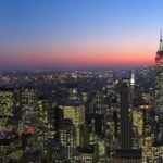 Touring New York City by land and by air