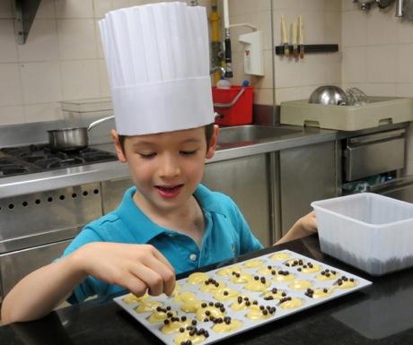 Kids Pastry Lesson - Four Seasons Paris George V