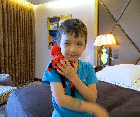 Stuffed Animal at Hotel Fouquets Barriere Paris