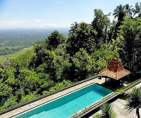 Villa Borobudur pool