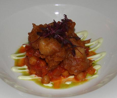 Polurrian Bay Hotel cuttlefish