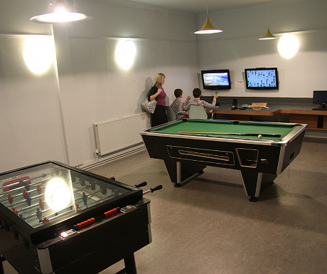 Polurrian Bay Hotel games room