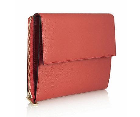 Saffiano textured-leather iPad Mini clutch from Net-a-Porter
