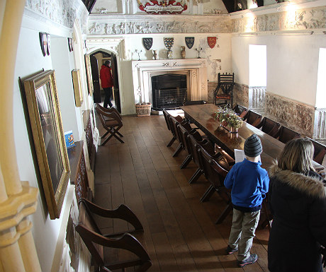 St Michael's Mount interior