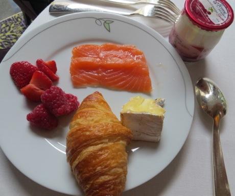 Complimentary breakfast