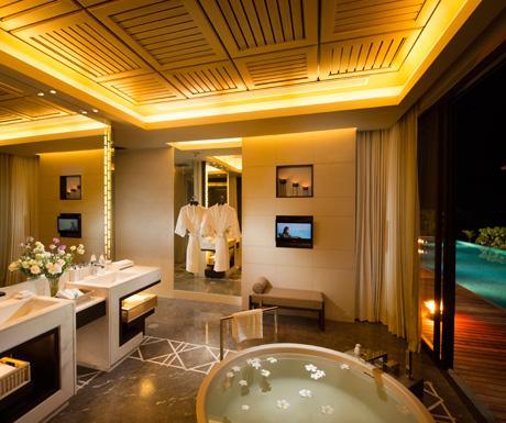 Oceanview Three Bedroom Pool Villa, Conrad Koh Samui Resort & Spa, Thailand