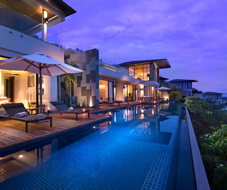 Suite of the week oceanview three bedroom pool villa for Koh tao cabana koi pool villa