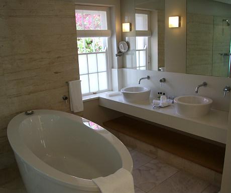 Bathroom at The Cellars Hohenort