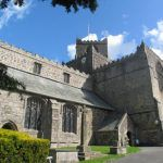 An interesting time to visit Cartmel Priory in the English Lake District
