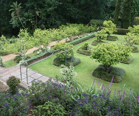 Gardens at The Cellars Hohenort