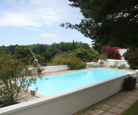 Outdoor pool at The Cellars Hohenort