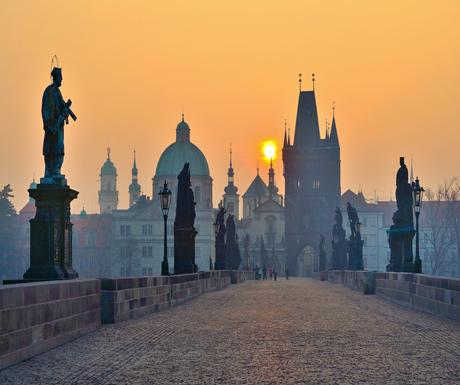Prague sunrise