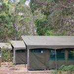 Glamping in Australia's only biodiversity spot