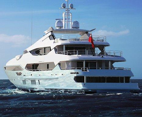 Eddie Jordan's new £32million superyacht