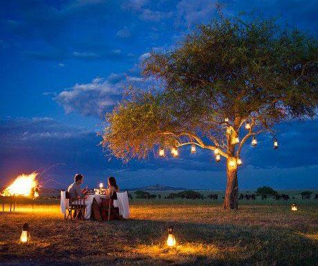 Sabora Camp dining