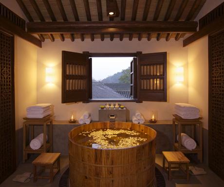 Amanfayun Spa bath house