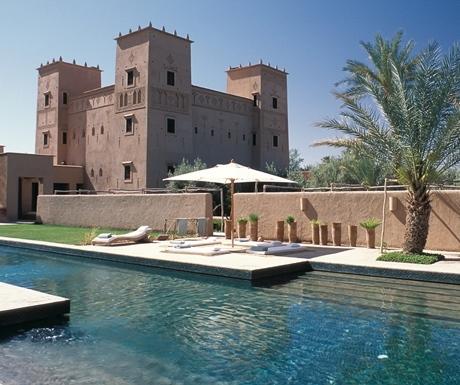 Dar Ahlam main kasbah and pool