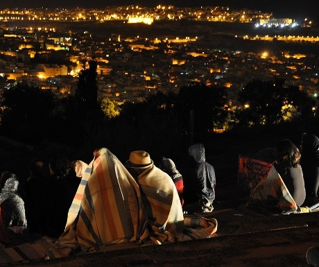 Fes Music Festival old city panorama