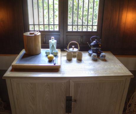 In-room minibar at Amanfayun