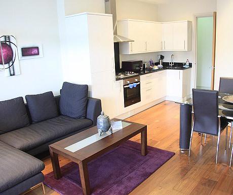 Kingston Apartment Kitchen