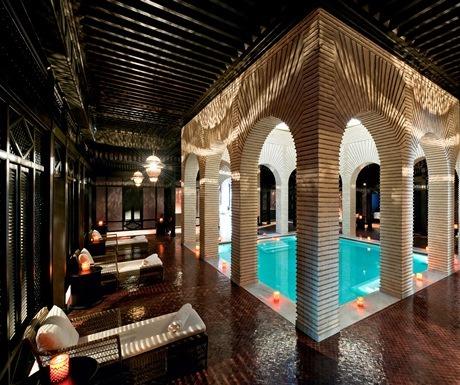 Le Spa @ Selman Palace indoors pool
