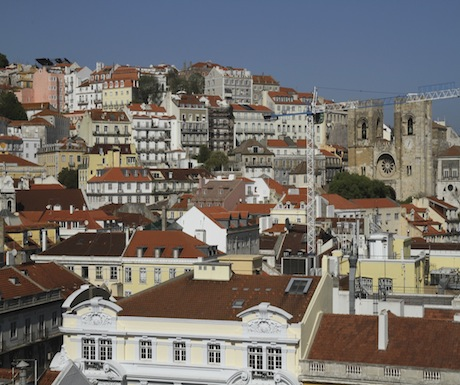 Lisbon view