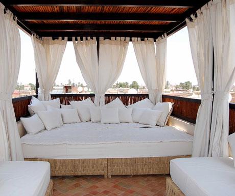 Riad Kheirredine terrace