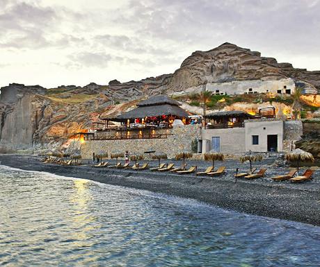 Theros Wave Bar Santorini Greece