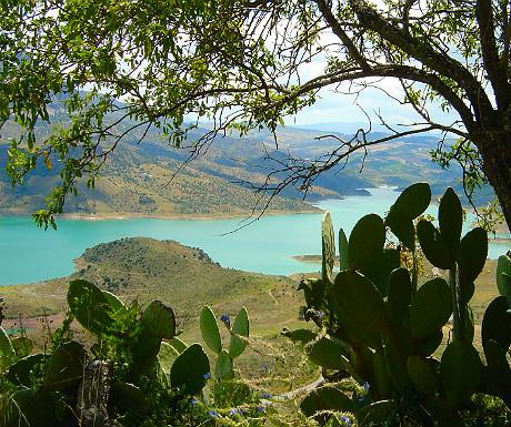 Zahara lake, Andalucia