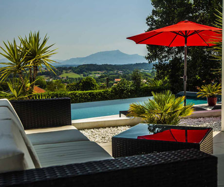Basque country pool