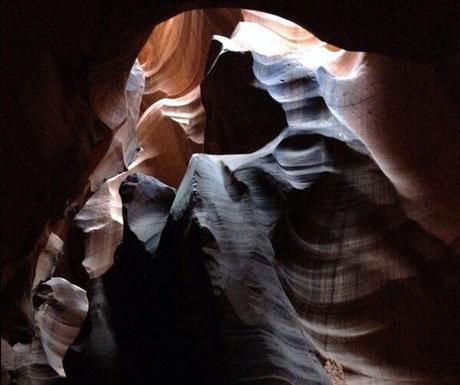 Antelope Canyon bear