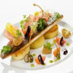 Recipe of the week: Brittany sea bass fillet, shaved Parma ham and lime pesto