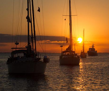 Guana Cay sunset