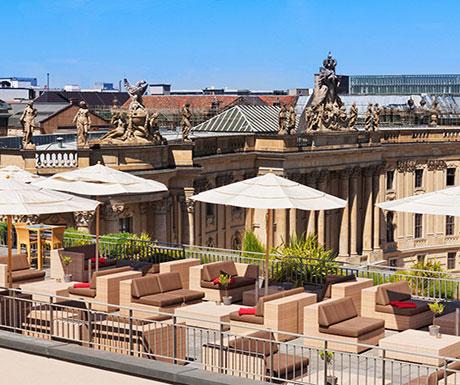 Hotel de Rome Roof Terrace, Berlin