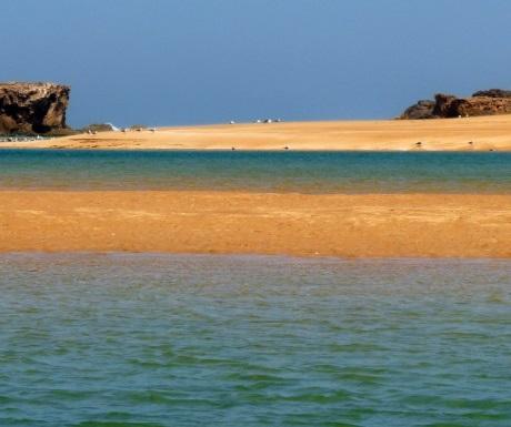 Lagoon in Oualidia