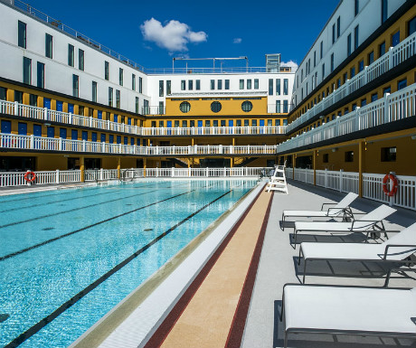 5 cool things about the latest hotel in paris molitor for Molitor paris france
